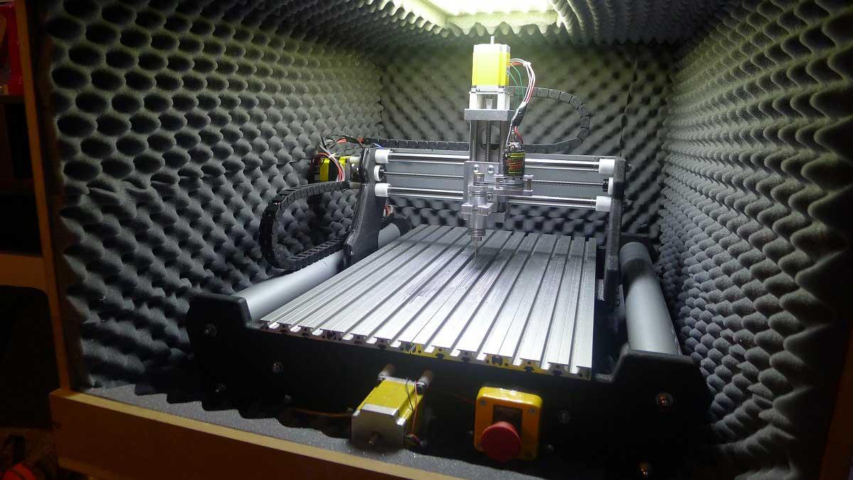 isolamento acustico macchinari