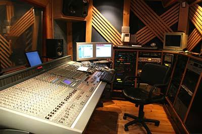 isolamento acustico studio di registrazione