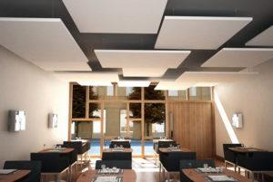 isolamento acustico ristorante