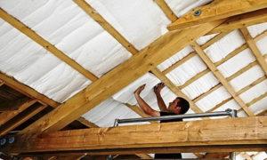 isolamento acustico tetto in legno
