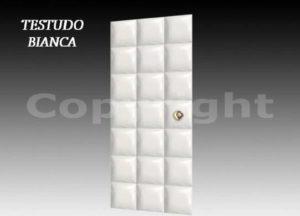 porta insonorizzata isolata acusticamente testudo bianca